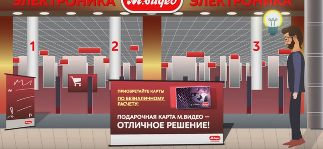 Обзор виртуального подарочного сертификата от М видео